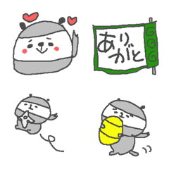 忍者パンダ絵文字