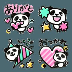 喋る★パンダの絵文字2