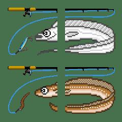 ドット絵文字 (海水魚 1)