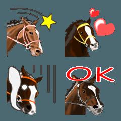 会話で使おう!よく使う馬の絵文字