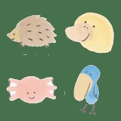 かわいい動物の絵文字
