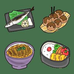 オシャレキュートな大人food☆和食絵文字