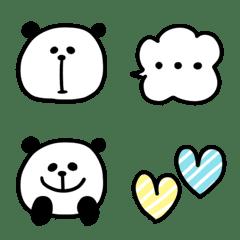 パンダのセットで使いやすい絵文字