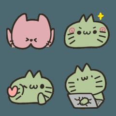double green's cat emoji