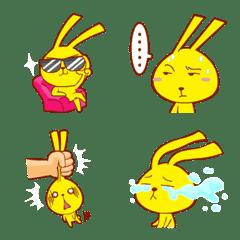 Hunny Bunny Emoji so cute