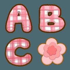 Pakaoma A-Zアルファベット絵文字
