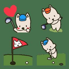 ゴルフ 絵文字2