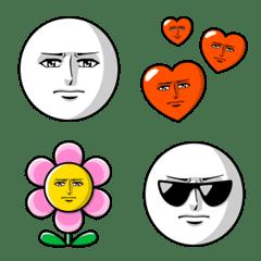 真顔の絵文字