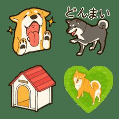 ラクガキ動物園21【柴犬】