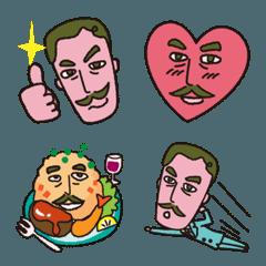 オシャレ♡おじさんの顔文字絵文字