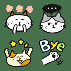 猫いっぱい♡よくばりミックス絵文字 2
