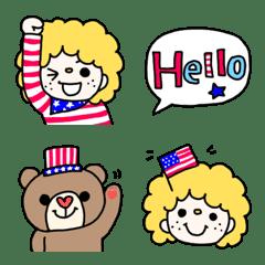 アメリカンボーイ 絵文字