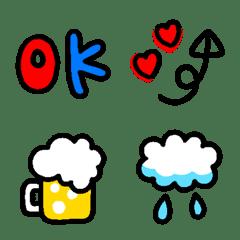 手書き❤可愛い絵文字