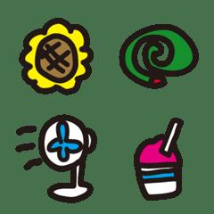 mataのラクガキ-夏に使える絵文字