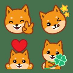 柴犬「ムサシ」絵文字2