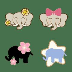 様々なかわいい象