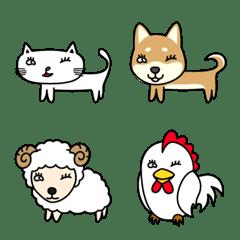 白猫の冬彦と奇妙な仲間達