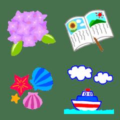 シリバシュの夏休み絵文字