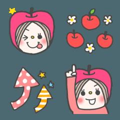 りんごちゃんの手書きの使いやすい絵文字