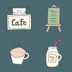 カフェに行く人のための絵文字
