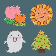 季節&行事の絵文字