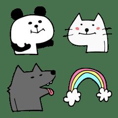 シンプルな動物たち