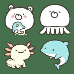 かわいいよ!くまの水族館です絵文字