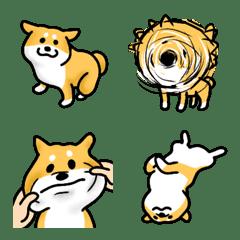 柴犬の絵文字