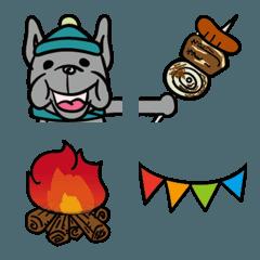 フレブルとキャンプの絵文字