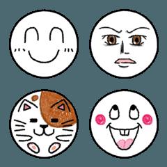 クレヨン風シンプル絵文字2