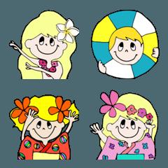 """little travelers """"summer"""" emoji"""