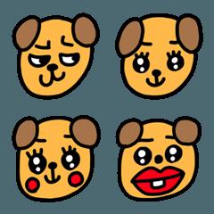 riekimの犬の顔文字 セットパック