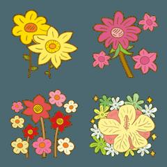 花 花 花だらけ