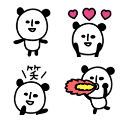 PANDA絵文字【キモカワ】