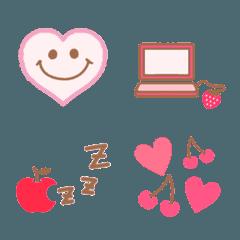 ピンクフルーツ♡おしゃかわスマイル