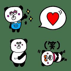 パンダさんの使える絵文字