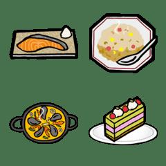 料理、食べ物絵文字2