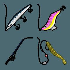 釣り人のための絵文字