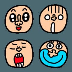 riekimの顔の絵文字3 セットパック