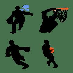 バスケットボール 絵文字 vol.3