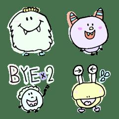 カラフル!らくがきモンスターズ(絵文字)