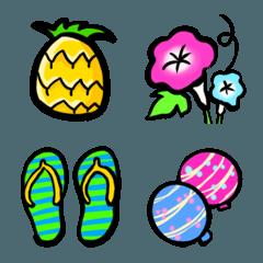 夏の絵文字
