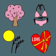 4つの季節 絵文字