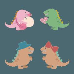 こんにちは、恐竜、友達