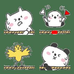 ヘンテコな動物③運動会編