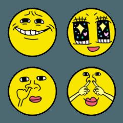 表情豊かな絵文字