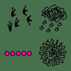 毎日使える落書き絵文字2