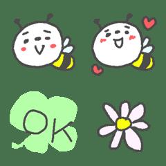 ミツバチ絵文字♪