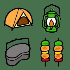 キャンプ 絵文字