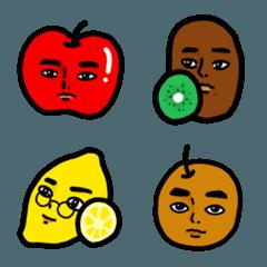 Handsome fruits_Emoji